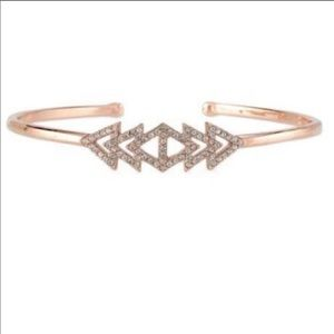 Stella & Dot- pave triangle cuff